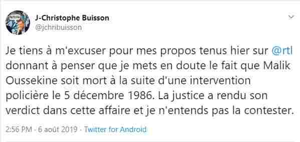 « Malik Oussekine n'a pas reçu de coups de la police » : la fake news d'un directeur du Figaro