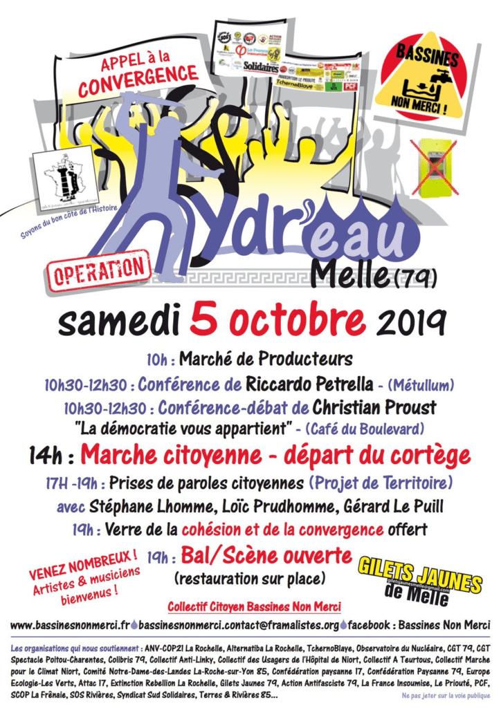 Water Stock 6 – 5 et 6 octobre à Melle – Rejoignez-nous !